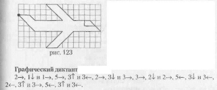 математический диктант самолет