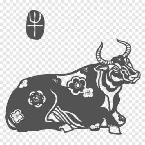 трафареты быков на окна