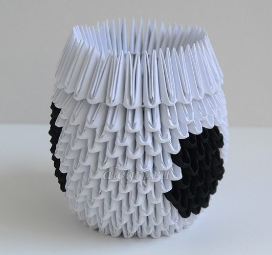 оригами бык из бумаги пошаговой инструкции