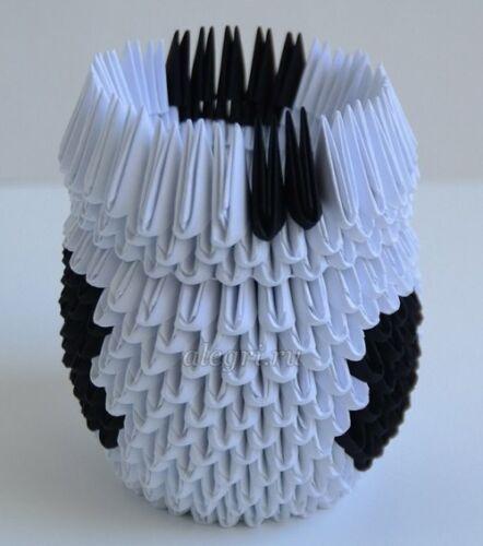 модульное оригами из бумаги бык страна мастеров
