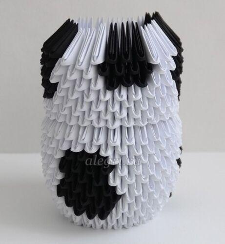 оригами из бумаги корова для детей