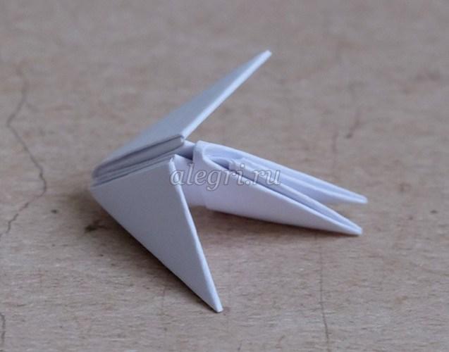 корова оригами своими руками