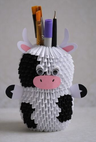 веселая корова поделка в садик