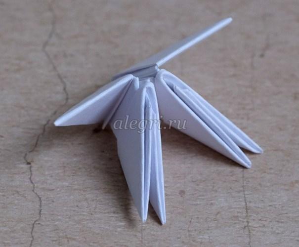 модульное оригами быка