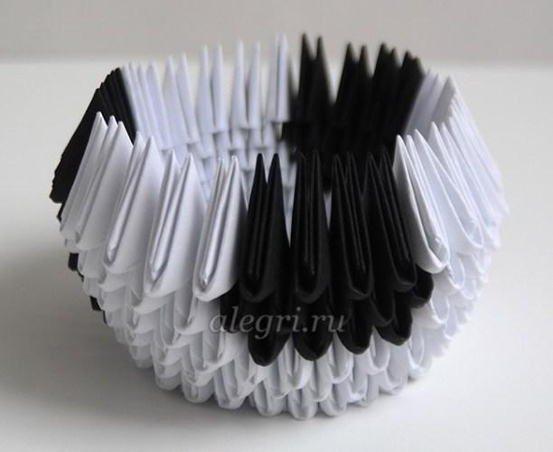 как сделать быка из бумаги оригами