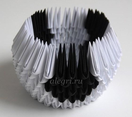 бык оригами из бумаги для начинающих