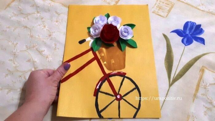 открытки ко дню матери сделанные руками ребят