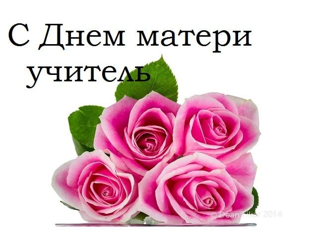 Самые лучшие поздравления с Днем матери учительнице