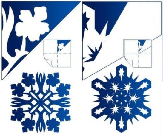 балерины снежинки шаблоны распечатать
