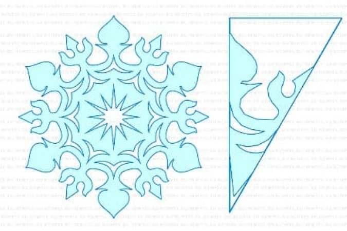 снежинки смайлики из бумаги шаблоны для вырезания