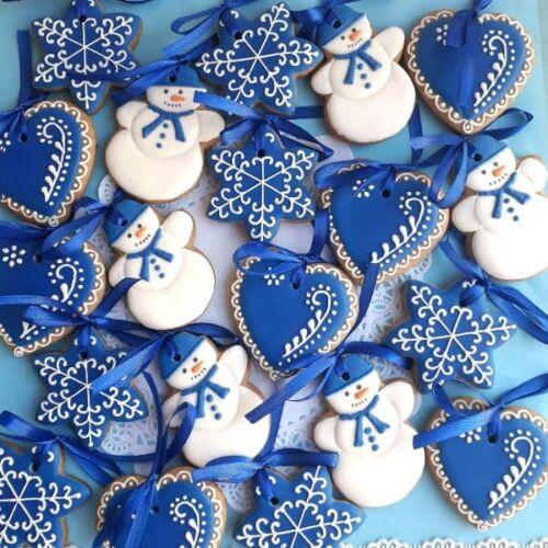 легкий рецепт новогоднего печенья