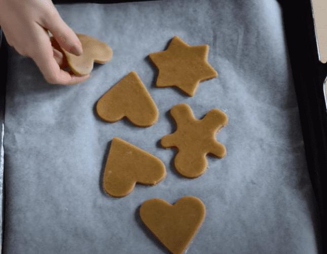 как готовить новогодние печенья