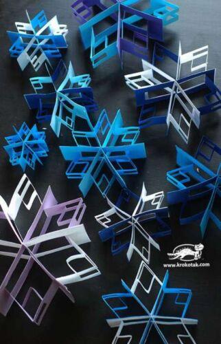 снежинки из бумаги модульное оригами