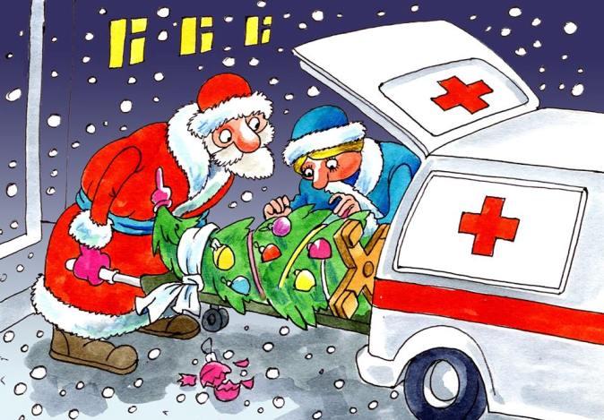 поздравления с новым годом медикам смешные