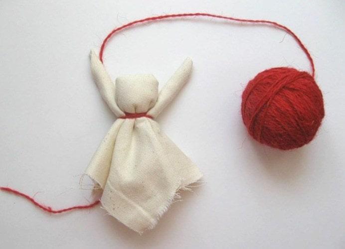 как делать куклу масленицу из ткани