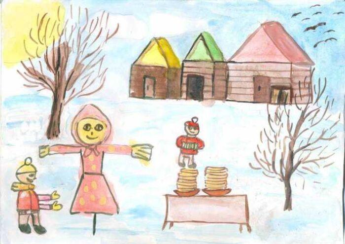 сценарий кукольного спектакля на масленицу для детей