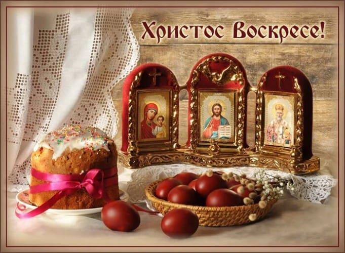 христос воскресе поздравления с пасхой картинки