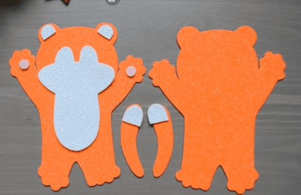 игрушки на елку из фоамирана шаблоны