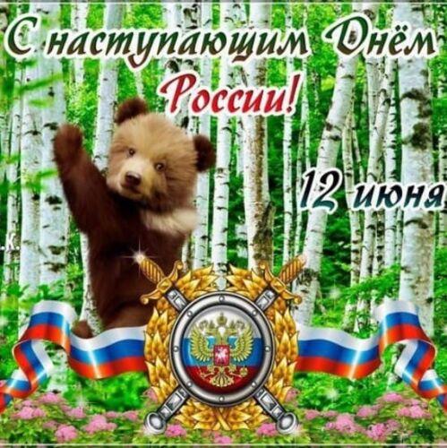 Картинки с Путиным на День России