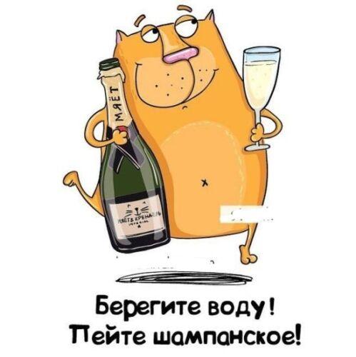 открытки с днем шампанского 4 августа