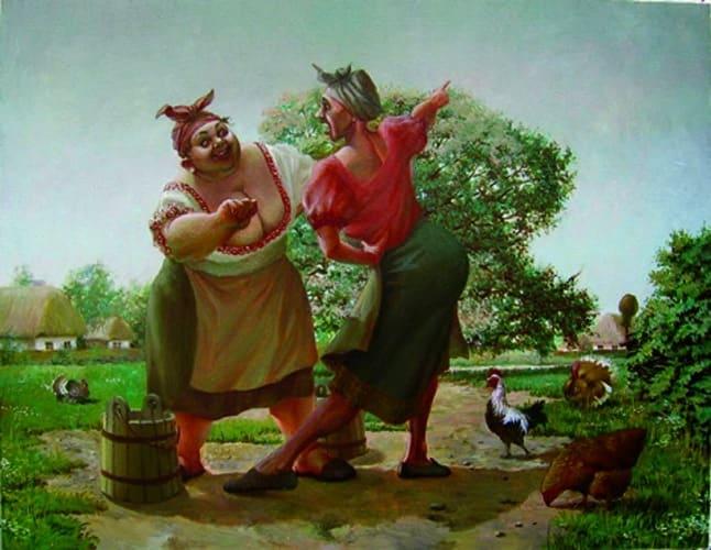 танцы в сельской местности - фото